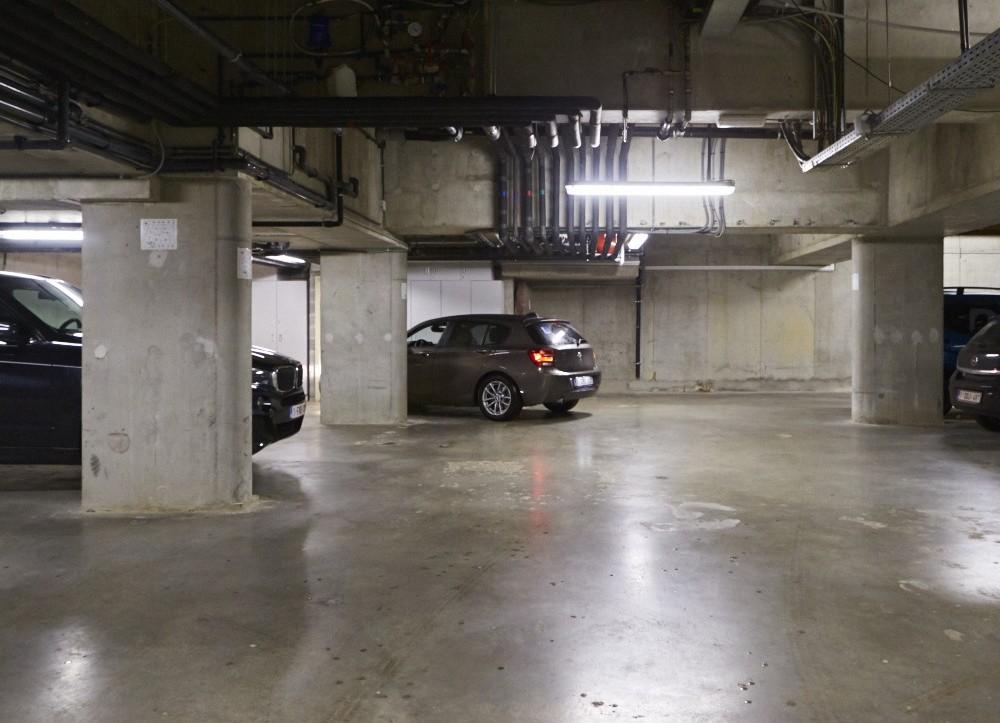 Secure parking garage